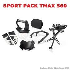 Pacchetto Sportivo YAMAHA TMAX T-MAX 560 SCHERMO PORTATARGA PEDANE SCHIENALE
