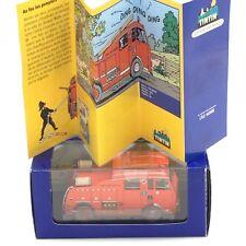 En Voiture Tintin - N42 camion de pompiers l'ile noire boîte + certificat