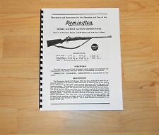 Remington Model 30-S Bolt Action  Rifle Operation and Care Manual - #101