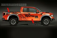 FORD RAPTOR Truck Side Bed Lettering Decals Vinyl Graphic Sticker 2010-2018