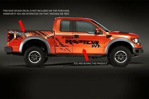 FORD RAPTOR Truck Side Bed Lettering Decals Vinyl Graphic Sticker 2010-2018