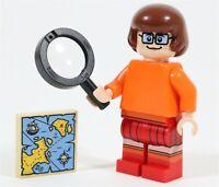 LEGO SCOOBY DOO VELMA MINIFIGURE - MADE OF GENUINE LEGO PARTS