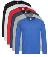 Coton Uni Noir Bleu Marron Vert Gris Blanc T-Shirt