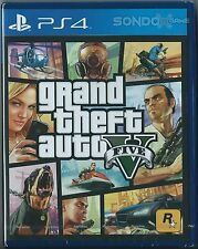 Grand Theft Auto V (English/Chi Ver English voice) for PS4 Sony Playstation 4