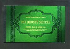 2005 Dx34 Bronte Sisters Prestige booklet - No Stamps