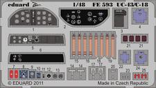 Eduard Zoom FE593 1/48 Beech UC-43/C-18 Traveller Roden