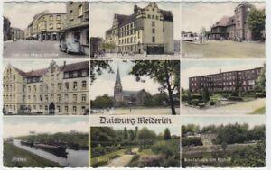 Ansichtskarte Nordrhein - Westfalen  Duisburg Meiderich  9 Ansichten  1959