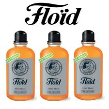 Floid The Genuine -After Shave Dopobarba 400 ml - 3 PEZZI - Revlon New Formula