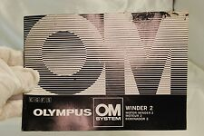 Olympus OM System Winder 2 Motor Winder Instructions Multi-Lingual  EN FR GR  SP