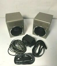 REGENT STEREO UNLIMITED II SPEAKERS + ACCESSORIES TESTED! WORKING!