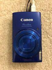 Canon Power Shot ELPH 190 Digital Camera+2 Battery+Charger+32 Gig SanDisk Card