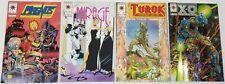 N) Lot of 4 Valiant Comic Books X-O Manowar Doctor Mirage Turok Magnus