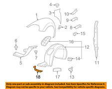 VW VOLKSWAGEN OEM 12-18 Beetle Fender-Deflector 5C5807547