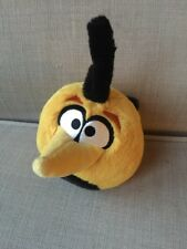 Angry Bird Yellow Long Beak With Sound Noise Plush Stuffed Animal