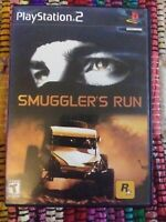 Smuggler's Run Sony PlayStation 2 PS2 Racing Game RESURFACED Complete