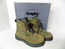 Trophy XL TL3 Wade Brown Suede Fishing Boots Men's Size 7 (39.5 EU) New In Box