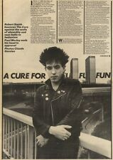 21/11/81PGN25/26 ARTICLE AND PICTURE OF THE CURE A CURE FOR FUN
