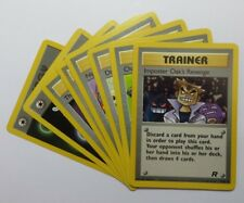 TEAM ROCKET - Pokemon TRAINER/SPECIAL ENERGY Cards (Select your card)