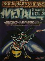 GUITAR TAB / TABLATURE / ROCK HARD & HEAVY - METAL & MORE / VOL. 2 / SONGBOOK