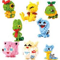 1X Nano Block Pokemon LOZ Diamond Mini Building Blocks Toys Pocket Monster New