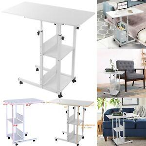 Mobile Computer Desk Study Table Bedside Lifting Laptop Stand Desk Adjustable