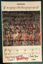 THE WARRIORS MICHAEL BECK as SWAN Signed 11x17 #7 CONEY ISLAND'S FINEST MUSIC SH