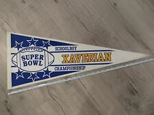Xaverian Westwood Massachusetts High School Mass MA Felt Pennant Flag Football