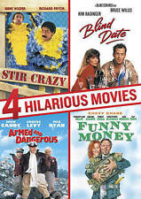 4 Hilarious Movies: Stir Crazy/Blind Date/Armed and Dangerous/Funny Money (DVD,