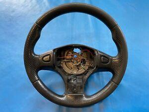 Rover 200/400 Black Leather Steering Wheel (1995 - 2000)