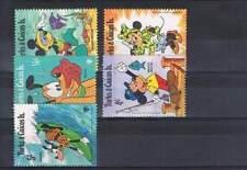 Serie Disney postfris MNH Turks & Caicos: Mickey Minnie Goofy Pluto (dis040)