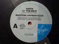 "Master's Apprentices ""Birth Of The Beat"" 1988 VIRGIN Oz 7"" 45rpm"