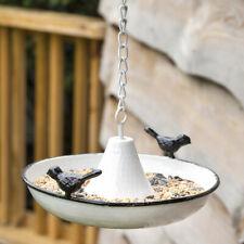 New listing Rustic Saucer Bird Feeder Country Farmhouse Primitive Garden Wild Seed Songbird