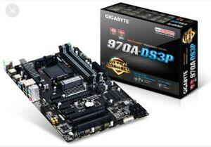 Gigabyte GA-970A-DS3P AMD Socket AM3+ ATX Motherboard FX8350 Support