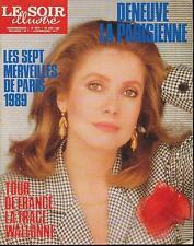 LSI 2975 (29/6/89) CATHERINE DENEUVE SHEILA AVENGERS