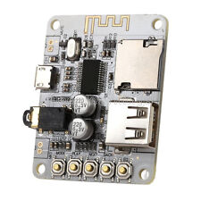 DC 5V Bluetooth 2.1 Audio Receiver Board Amplifier W/ USB TF Card Decode Player