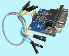 Rs232 TTL Konverter Modul MAX 3232ESE * PCB blau * Arduino * Bascom* PC * MCU