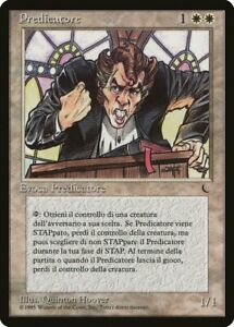 1X Preacher - The Dark - Italian, NM/EX MTG CARD