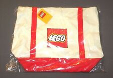 LEGO Canvas Tote Bag White & Red 5005326