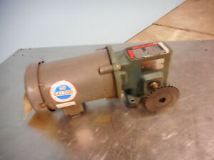 Baldor 1/2 hp Motor with Tigear Gearbox