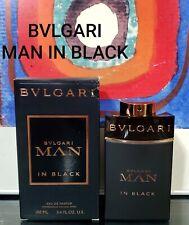 BVLGARI MAN IN BLACK  1, 2, 3, 5, 7 & 10ML SPRAY 100% AUTHENTIC
