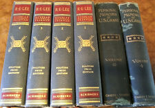 Personal Memoirs of ULYSSES S. Grant 1st Ed Orig (w/rare Lee's 4 Vol Biography)