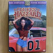 The Dukes of Hazzard - The Complete Fifth Season (DVD, 2005, 8-Disc Set) 22 Ep