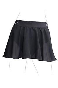 NWT Dance Bloch Black Skirt Toggle Waist Ladies Small Adult R2631