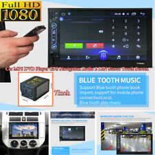 7Inch 2DIN HD Touch Screen MP5 Player Car GPS Navigation FM Radio Stereo USB/TF