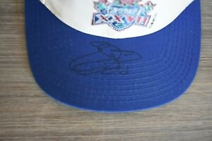 Emmitt Smith SIGNED Dallas Cowboys NFL Football Super Bowl XXVII 27 Hat auto new