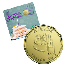 CANADA 2018 HAPPY BIRTHDAY UNCIRCULATED  5 COIN GIFT SET SPECIAL LOONIE