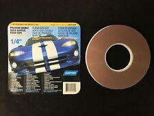 "Genuine Norton Premium Double Sided Acrylic Decal Foam Tape 1/4"" 05620 Free Ship"