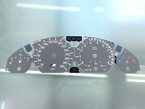 BMW E46 M3 dials, Tachoscheibe, esferas
