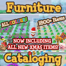 📚 Animal Crossing New Horizons 1800+ Catalogue Event + Toy Day Items ACNH 🎅