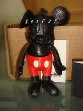 NEW *DISNEY X COACH 1941* Limited Edition Mickey Mouse Leather Doll Keychain Fob